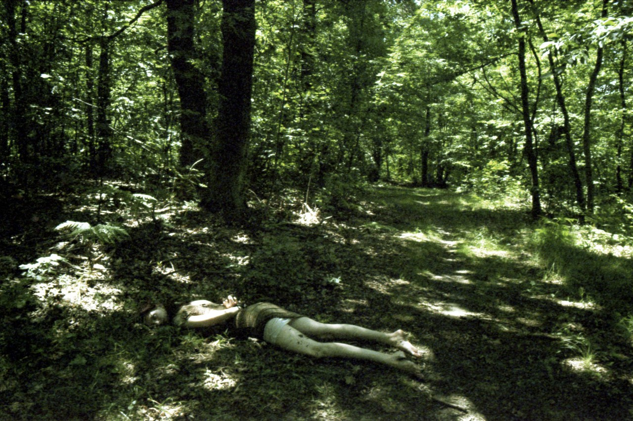 Sexual assault, body tied up and abandoned near the forest road, forests near Skierniewice